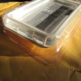Husa silicon TPU Bumper Rama Margine mijloc Cu butoane Metalice protectie sporita Apple Iphone 5C