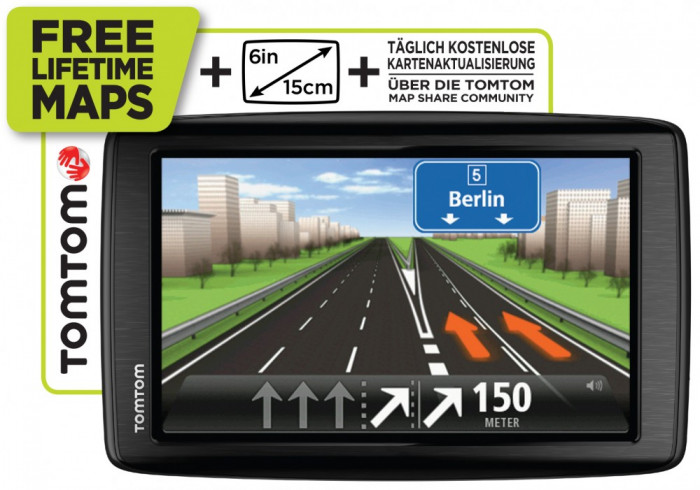 gps navigatie tomtom start 60 M - EUROPE (EU45) DISPLAY MARE 15cm, 6 INC FULL EUROPA+ROMANIA, MODEL NOU SIGILAT foto mare