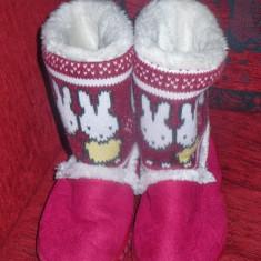 Cizme copii - Cizmulite imblanite pentru iarna pentru fetite - OKAZIE