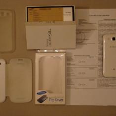 Telefon mobil Samsung Galaxy S3, Alb, 16GB, Neblocat, Quad core, 2 GB - Samsung Galaxy S3 i9305 4G ca nou cu garantie