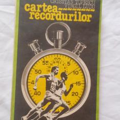 Carte despre Sport - CRISTIAN TOPESCU / VIRGIL LUDU - CARTEA RECORDURILOR {1984}