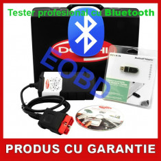 Noul Tester Delphi DS150E cu Bluetooth - Tester Profesional Masini si Camioane - Tester diagnoza auto