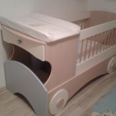 Mobilier bebe/copii cu pătuţ transformabil - Set mobila copii Altele