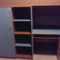 Patut lemn pentru bebelusi, Altele, Alte dimensiuni - Pat/birou copii