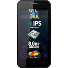 Allview p5 quad impecabil+garantie 2 ani+flappy bird - Telefon Allview, Negru, Neblocat