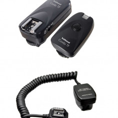 Hahnel Combi TF - telecomanda si declansator ( trigger ) wireless pentru blitz Canon, Pentax, Samsung si cablu TTL AP-TLC Apunture.