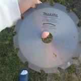 Disc pentru circular cu vidia pentru lemn MAKITA dimensiuni 190 x 2.0 x 30 mm (si prin posta rom) - Masina de taiat