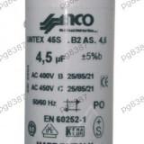Condensator pornire motor 4,5uF-450V - 327099