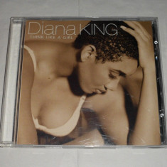 Vand cd DIANA KING-Think like a girl - Muzica R&B Columbia