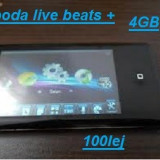 De vanzare un mp4 E-boda live beats + 4GB in stare putin folosit - Media player