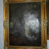 Tablou ghicitoarea - Pictor roman