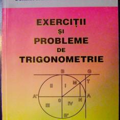 EXERCITII SI PROBLEME DE TRIGONOMETRIE_liceu si admitere in facultati tehnice, de Petruta Gazdaru - Teste Bacalaureat