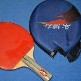 Paleta ping pong - Paleta tenis de masa cu husa
