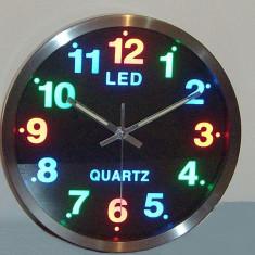 Ceasuri de perete - CEAS DE PERETE CU LEDURI