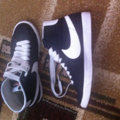 Nike Blazers Cavanas Black - Adidasi barbati Nike, Marime: 40, Culoare: Negru