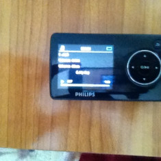 Vand mp4 philips go gear 8GB - Mp4 playere Philips, Negru