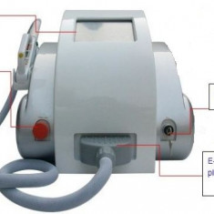 Epilator elight-machine+ radiofrecventa pt epilare definitiva, stergere riduri, pete