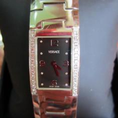 Ceas de dama Versace cu diamante - Ceas dama Versace, Lux - elegant, Inox, Analog