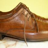 Pantofi barbati marca Manz piele marimea 8 ( echivalent 42 european ) locatie raft ( 15 / 1 )