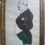 Tablou - Desen ( caricatura ) - Iser