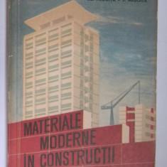 MATERIALE MODERNE IN CONSTRUCTII A.Negoita - Carti Constructii