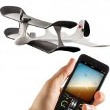 Avion de jucarie, 10-14 ani, Plastic, Unisex - Avion telecomandat din smartphone