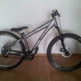 Mountain Bike Nespecificat, 15 inch, 26 inch, Numar viteze: 1, Gri, MTB DJ-4X Hardtail - Vand Umf Hardy 3
