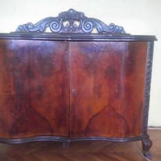 Mobilier lemn nuc si abanos (3 piese set), 1800 - 1899