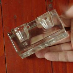 Calimara veche din sticla cristal pentru birou !!!
