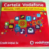 CARTELE VODAFONE CU NUMAR ALEATORIU, AVEM 500BUC! - Cartela Vodafone