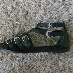 Sandale Bata - Sandale dama Bata, Marime: 39, Culoare: Negru, Negru