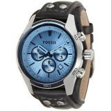 Ceas barbatesc Fossil, Fashion, Quartz, Inox, Piele, Cronograf - VAND Ceas FOSSIL Original