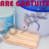 Produse epilare - Kit incalzitor decantor ceara pro wax 100 + ceara azulene 400ml + cadou spatule