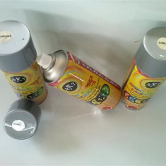 Spray vopsea cauciucata detasabila crom argintiu - Cosmetice Auto
