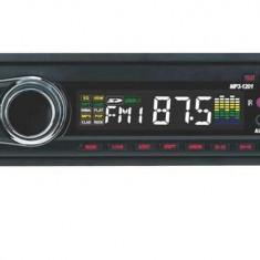 CD Player MP3 auto - RADIO MP3 PLAYER AUTO CU USB/SD redare MP3 card stick fata detasabila