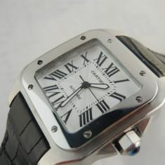 Cartier Santos 100 Automatic Cel mai mic pret!!! Cea mai buna calitate!!! - Ceas barbatesc Cartier, Mecanic-Automatic