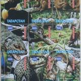 TATARSTAN 1997 - ANIMALE SI PASARI DIN JUNGLA, 1 M/SH NEOBLITERATA - E1593