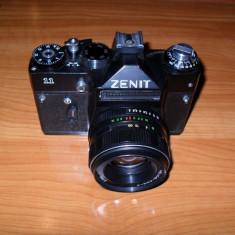 Zenit 11+obiectiv 44M-4, 2/58 - Aparat Foto cu Film Zenit
