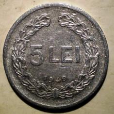 Monede Romania, An: 1949 - 7.441 ROMANIA RPR 5 LEI 1949