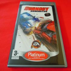 Joc Burnout Dominator, PSP, original, 14.99 lei(gamestore)! Alte sute de jocuri! - Jocuri PSP Electronic Arts, Curse auto-moto, 3+, Single player