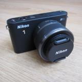 DSLR Nikon - Nikon J2 + Obiectiv 10-30 mm !!! Absolut nou, 0 cadre !!!