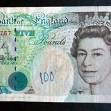 Bancnota Straine - Anglia 5 Pounds 1993