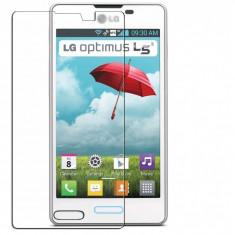 Folie LG Optimus L5 II E460 Transparenta - Folie de protectie LG, Lucioasa