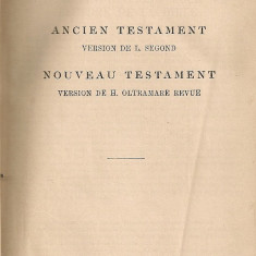 La Sainte Bible - 1913 - Biblia
