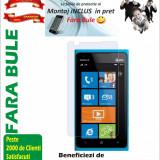Folie de protectie Transparenta Nokia Lumia 900 MONTAJ iNCLUS in Pret