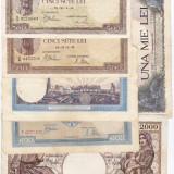 6) Lot 6 bancnote 1940, 1941, 1943, 1944