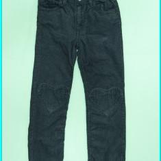 Haine Copii 4 - 6 ani H&m, Pantaloni, Fete - DE FIRMA _ Pantaloni catifea reiata, talie reglabila, H&M _ fetite | 5 - 6 ani