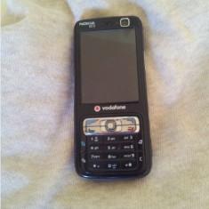 Telefon Nokia, Negru, <1GB, Vodafone, Fara procesor, Nu se aplica - Nokia N73 Codat Vodafone