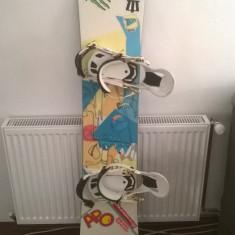Snowboard APO Seed, legaturi APO Dual Entry System, bootzi Northwave - Placi snowboard