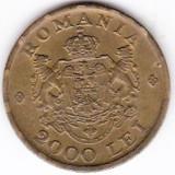 3) 2000 lei 1946, luciu monetarie, necuratata, patina frumoasa, a.UNC/UNC - Moneda Romania